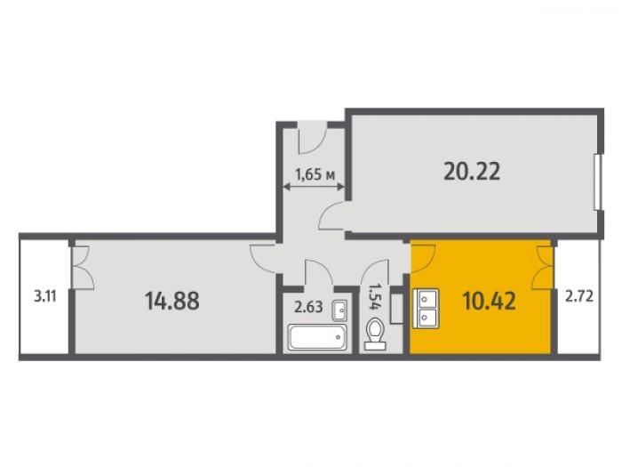 """Кухни в квартирах от """"Ленстройтреста"""": на любой вкус - Фото 3"""
