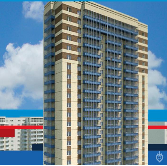 """ЖК """"Высота"""": 25-этажный дом на улице Цимбалина от компании, строившей олимпийские объекты в Сочи - Фото 1"""
