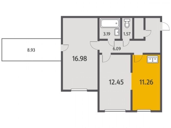 """Кухни в квартирах от """"Ленстройтреста"""": на любой вкус - Фото 1"""