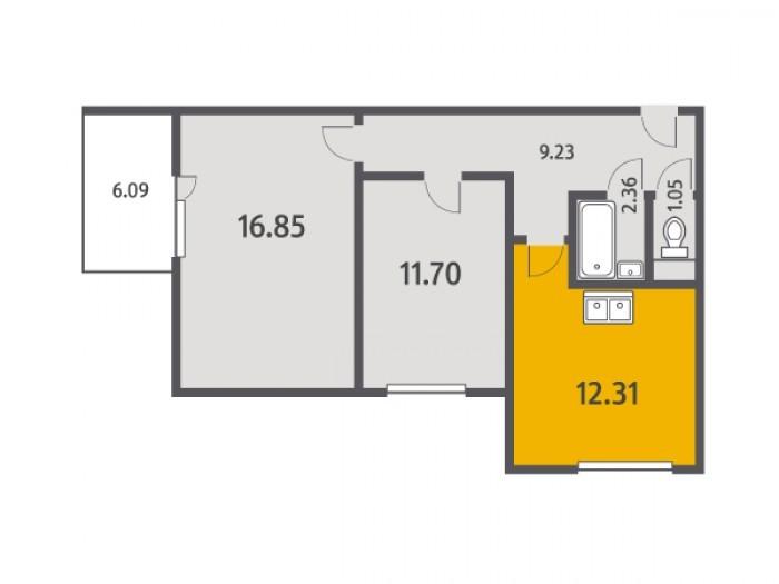 """Кухни в квартирах от """"Ленстройтреста"""": на любой вкус - Фото 2"""
