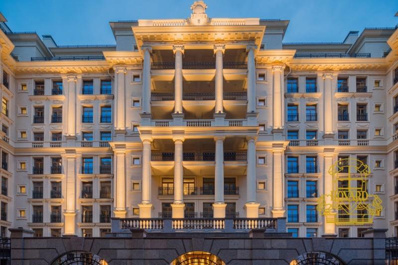 """Квартиры в ЖК """"Hovard Palace"""" в Москве, Центральный район, метро Звенигородская"""