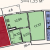"""Планировка однокомнатной квартиры площадью 41.35 кв. м в новостройке ЖК """"Лахта Парк"""""""