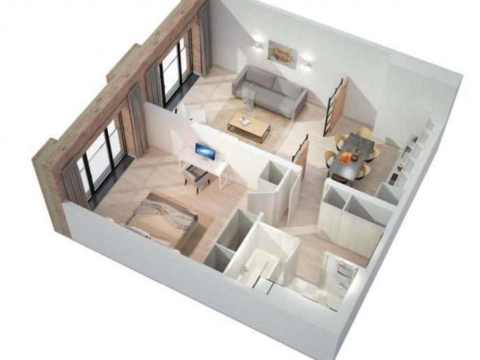 Docklands: стильные апартаменты с видом на Малую Неву - Фото 25