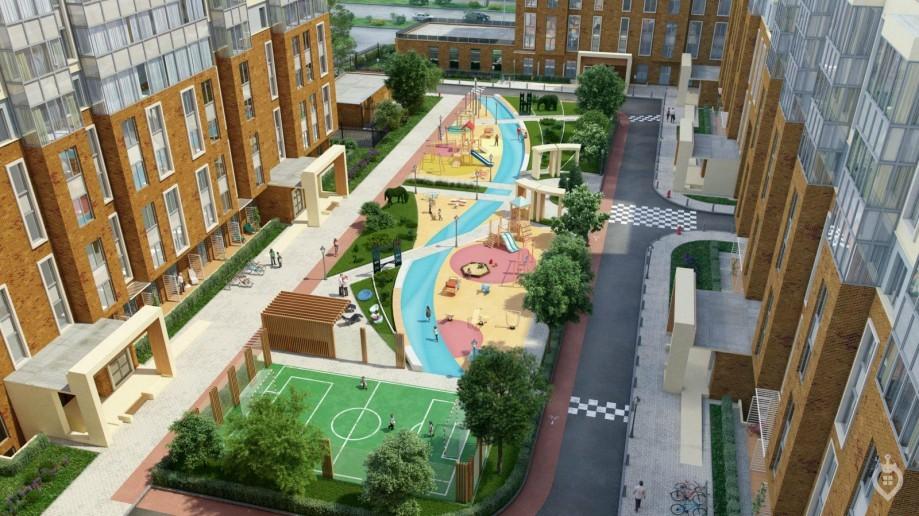 """ЖК """"Английская миля"""": комфортный жилой комплекс далеко от метро, но рядом с большим парком - Фото 6"""