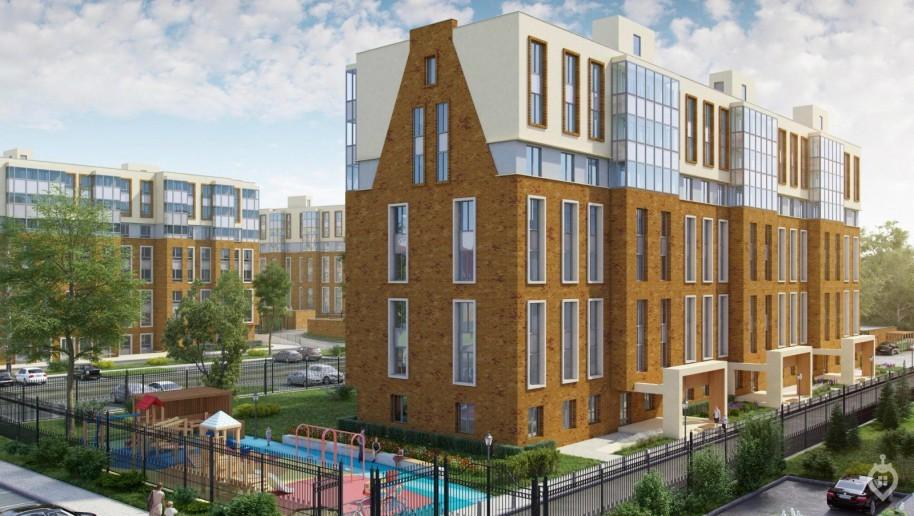 """ЖК """"Английская миля"""": комфортный жилой комплекс далеко от метро, но рядом с большим парком - Фото 1"""