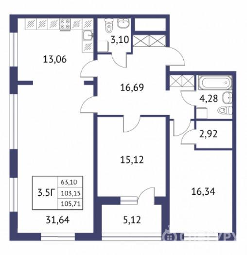 """""""Неоклассика"""": симпатичные малоэтажные дома при въезде в Пушкин - Фото 28"""