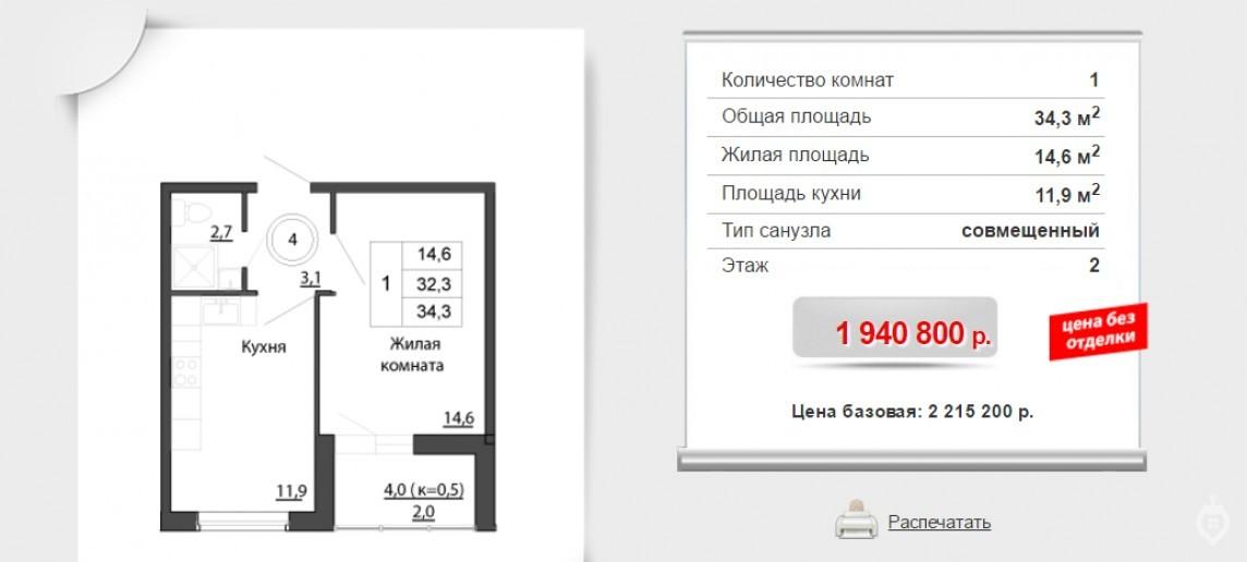 """ЖК """"Брусничный"""": три монолитных дома в Янино - Фото 15"""