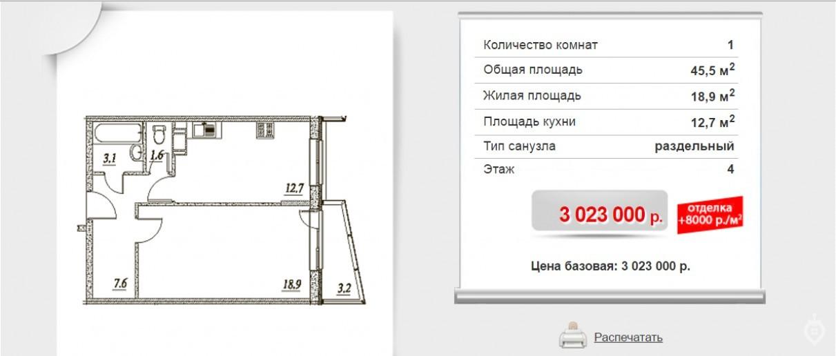 """ЖК """"Брусничный"""": три монолитных дома в Янино - Фото 9"""