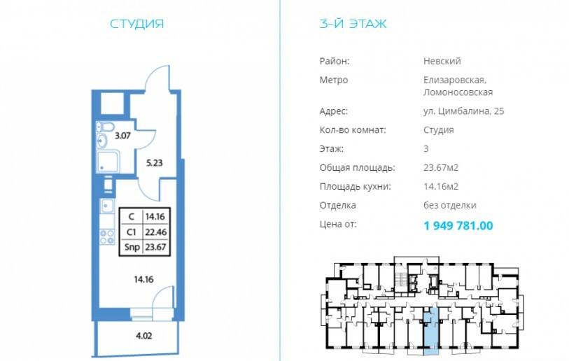 """ЖК """"Высота"""": 25-этажный дом на улице Цимбалина от компании, строившей олимпийские объекты в Сочи - Фото 40"""