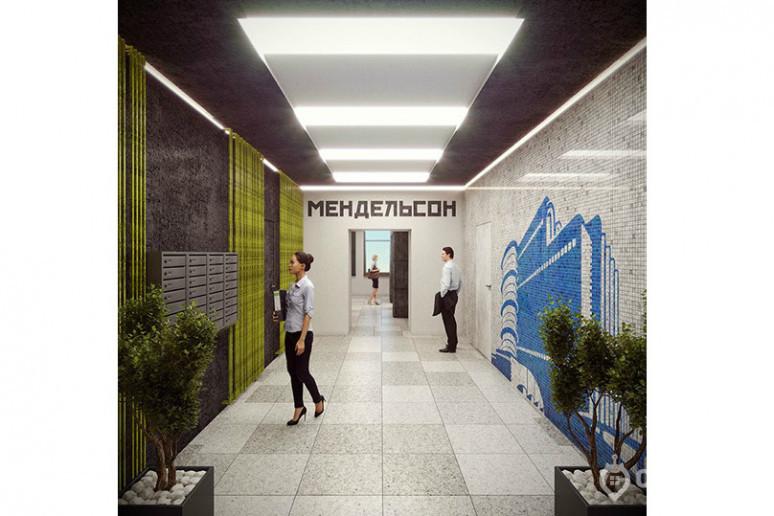 """ЖК """"Мендельсон"""": бизнес-класс с видом на заброшенную фабрику - Фото 32"""
