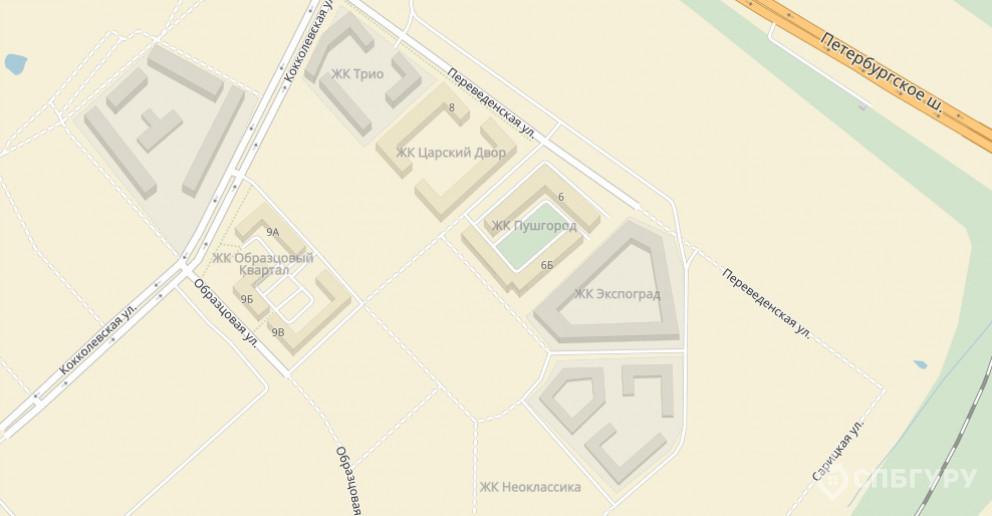 """""""Неоклассика"""": симпатичные малоэтажные дома при въезде в Пушкин - Фото 3"""