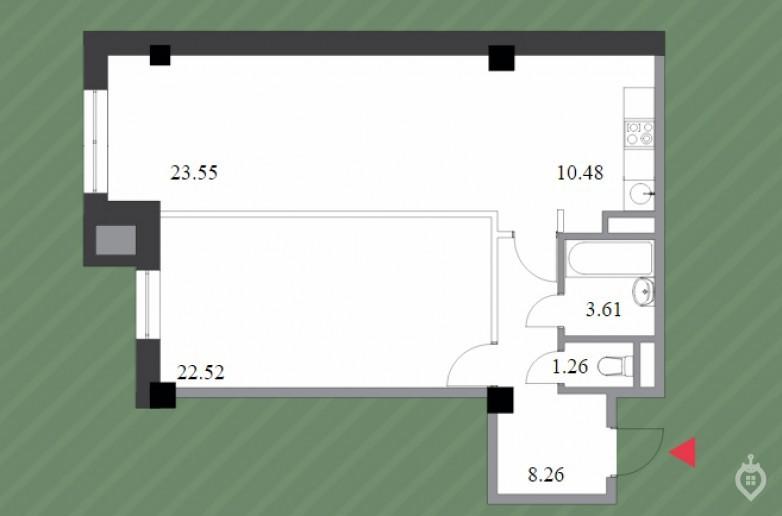 """ЖК """"Шерлок Хаус"""": неплохой, но сильно переоцененный дом на """"Удельной"""" - Фото 45"""