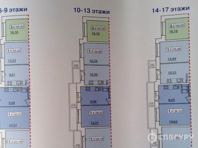 """ЖК """"Приневский"""" -  бюджетное жилье в пределах КАД - Фото 31"""