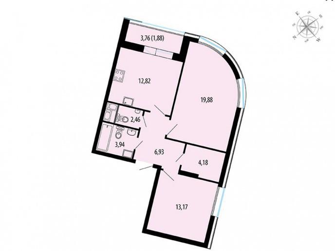 Пять Звезд – стильный жилой комплекс в 500 метрах от Невы - Фото 44