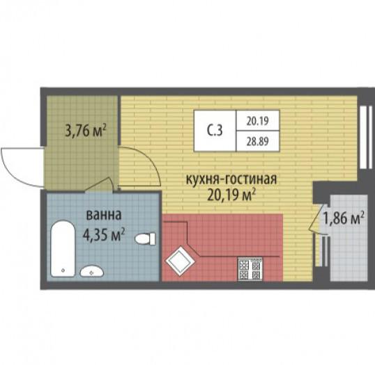 """ЖК """"Петергоф Парк"""": симпатичные домики на окраине Петергофа - Фото 18"""