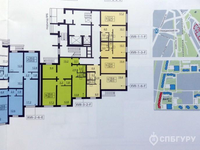 Новая Охта – Жилой комплекс от ЛСР за КАДом с отделкой и городской пропиской - Фото 43