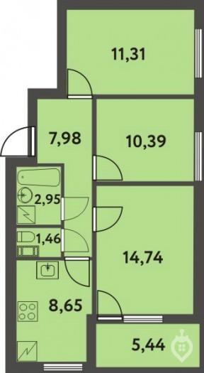 """""""Финские кварталы"""": жилой комплекс средней этажности в 10 минутах езды от города - Фото 28"""