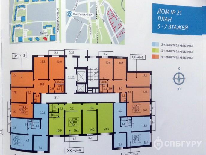 Новая Охта – Жилой комплекс от ЛСР за КАДом с отделкой и городской пропиской - Фото 41