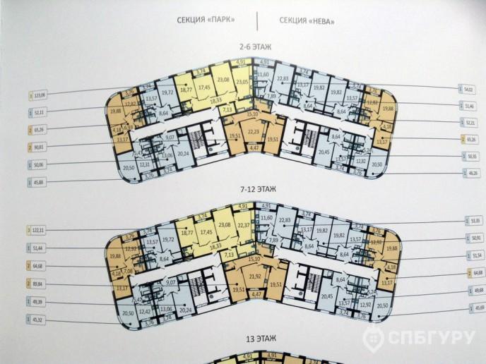 Пять Звезд – стильный жилой комплекс в 500 метрах от Невы - Фото 41