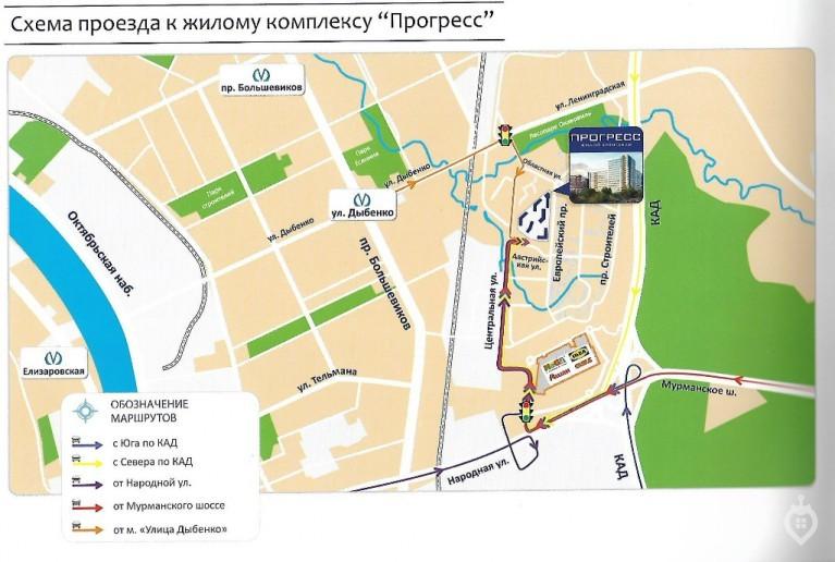 """ЖК """"Прогресс"""": быстро растущий кирпично-монолитный комплекс в Кудрово - Фото 2"""