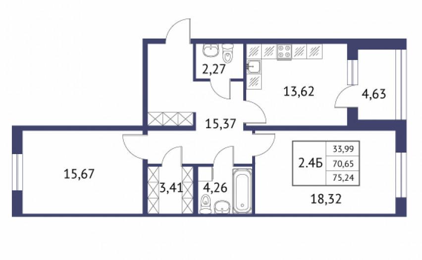 """""""Неоклассика"""": симпатичные малоэтажные дома при въезде в Пушкин - Фото 27"""