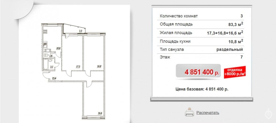 """ЖК """"Брусничный"""": три монолитных дома в Янино - Фото 10"""