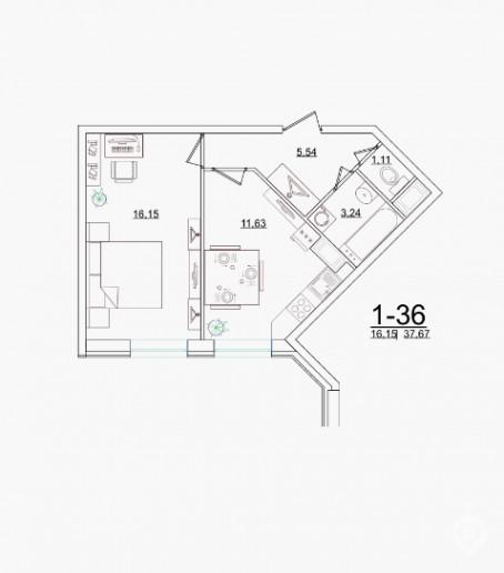 """ЖК """"Старая крепость"""": огромный дом у парка в Мурино - Фото 42"""