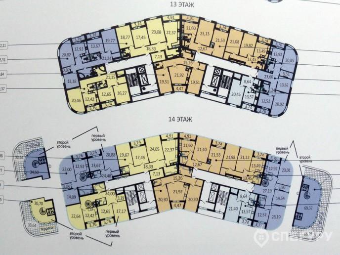 Пять Звезд – стильный жилой комплекс в 500 метрах от Невы - Фото 40