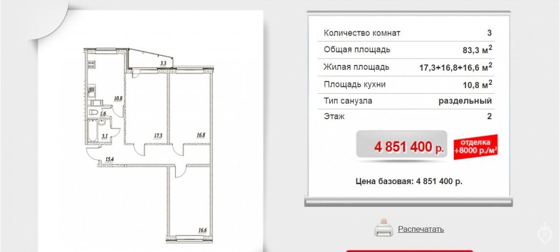 """ЖК """"Брусничный"""": три монолитных дома в Янино - Фото 12"""