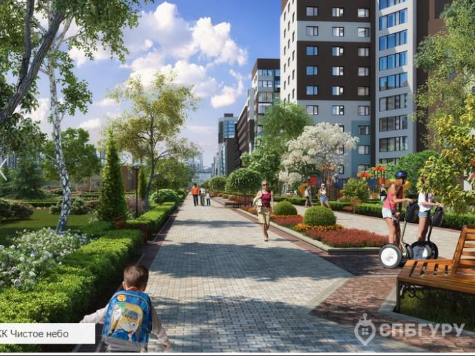 """""""Чистое небо"""": новый масштабный проект в Приморском районе - Фото 1"""