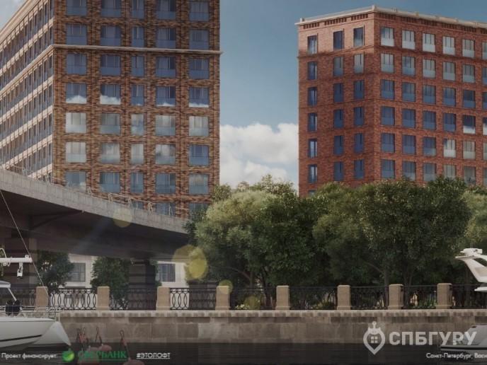 Docklands: стильные апартаменты с видом на Малую Неву - Фото 1