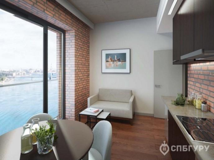 Docklands: стильные апартаменты с видом на Малую Неву - Фото 27