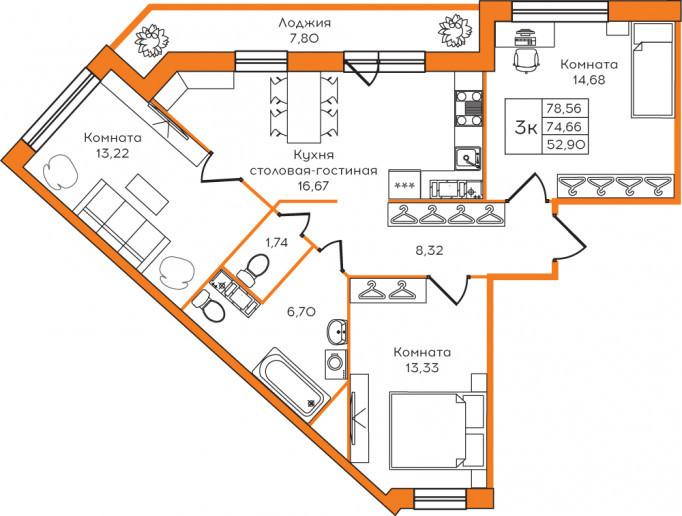 """""""Yolkki Village"""": крупный жилой комплекс с квартирами """"под ключ"""" в маленькой деревне Скотное - Фото 14"""