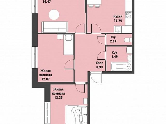 """ЖК """"Живи! В Рыбацком!"""" - недорогие квартиры с отделкой и удобной рассрочкой. - Фото 39"""