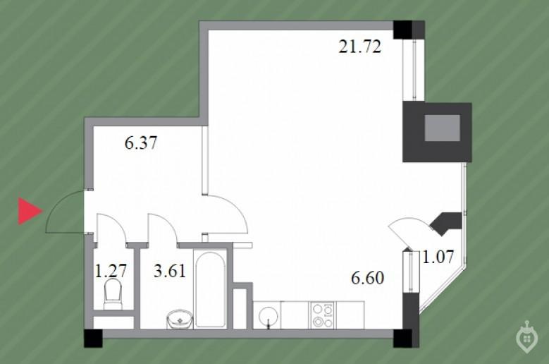 """ЖК """"Шерлок Хаус"""": неплохой, но сильно переоцененный дом на """"Удельной"""" - Фото 35"""