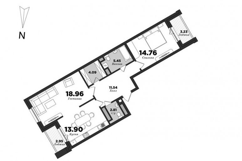 """ЖК """"Мендельсон"""": бизнес-класс с видом на заброшенную фабрику - Фото 29"""