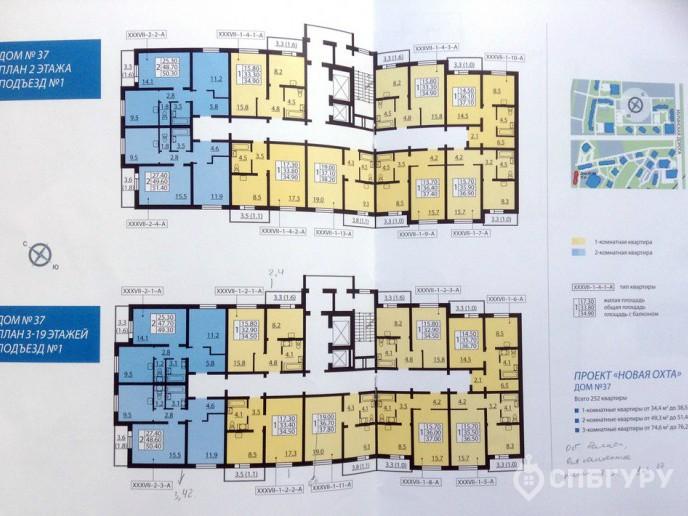 Новая Охта – Жилой комплекс от ЛСР за КАДом с отделкой и городской пропиской - Фото 35