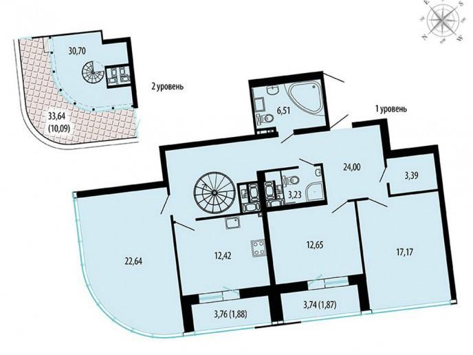 Пять Звезд – стильный жилой комплекс в 500 метрах от Невы - Фото 51