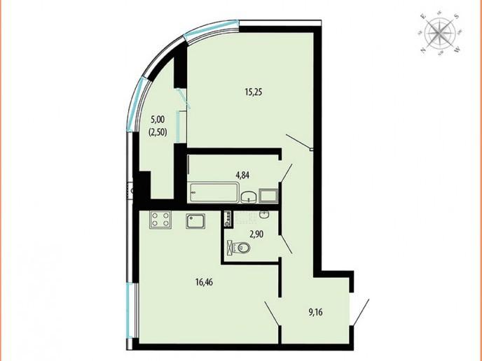 Пять Звезд – стильный жилой комплекс в 500 метрах от Невы - Фото 42