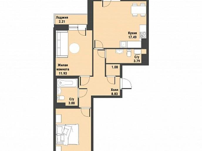 """ЖК """"Живи! В Рыбацком!"""" - недорогие квартиры с отделкой и удобной рассрочкой. - Фото 42"""