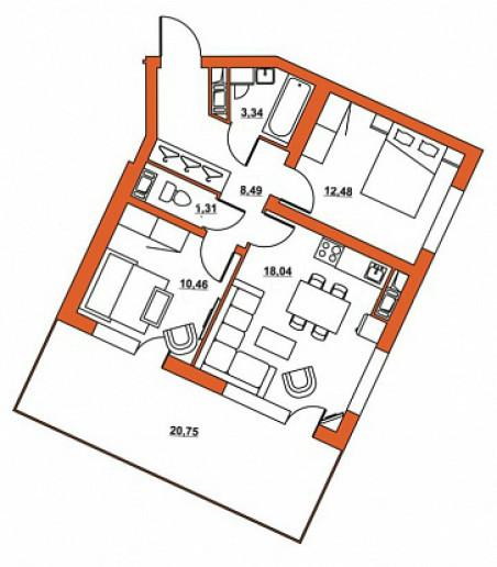 """ЖК """"Шотландия"""": симпатичные малоэтажные дома в зеленом месте со слабой инфраструктурой - Фото 28"""