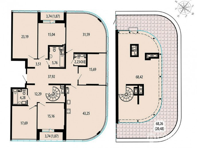 Пять Звезд – стильный жилой комплекс в 500 метрах от Невы - Фото 47