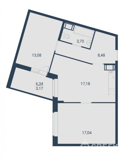 """ЖК """"Материк"""": маленькие квартиры в перенаселенном Мурино - Фото 11"""