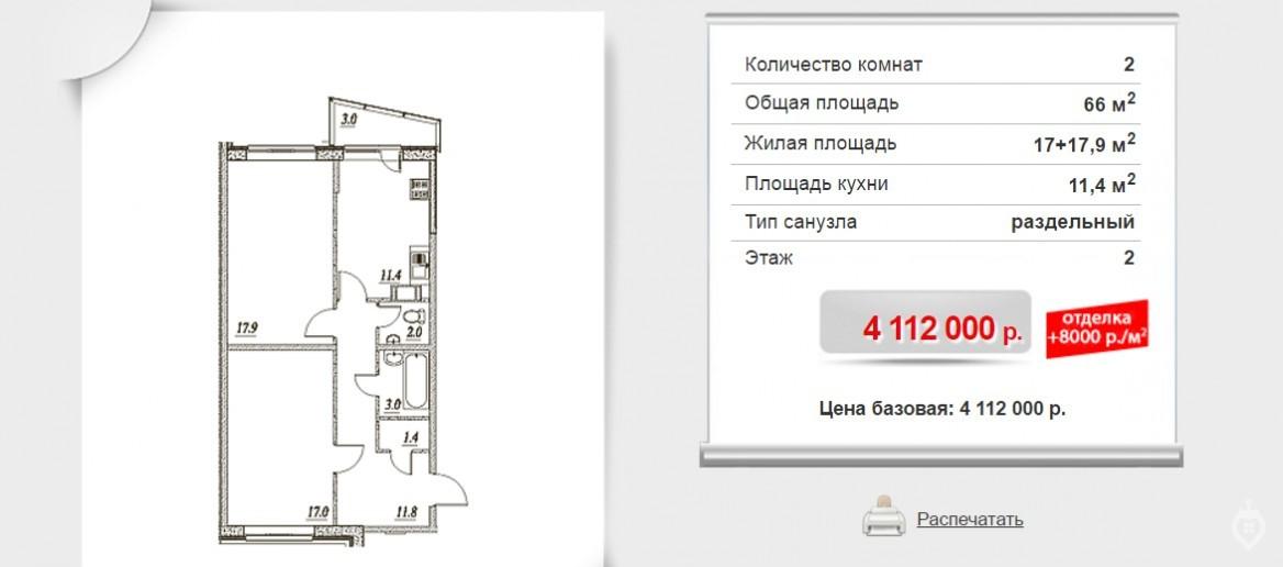 """ЖК """"Брусничный"""": три монолитных дома в Янино - Фото 7"""
