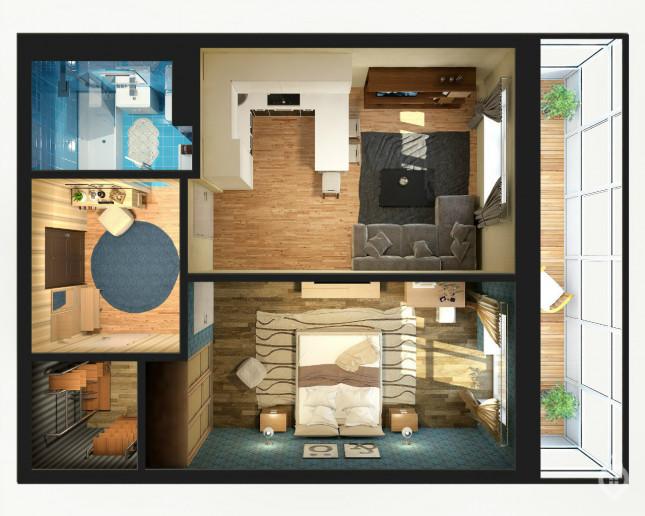 """Досрочная """"Премьера"""": дом на Юго-Западе, который строят с опережением сроков - Фото 37"""