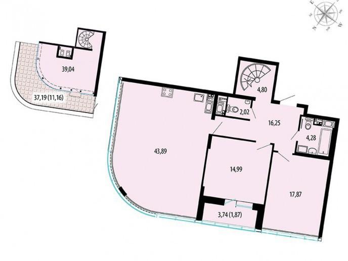 Пять Звезд – стильный жилой комплекс в 500 метрах от Невы - Фото 53