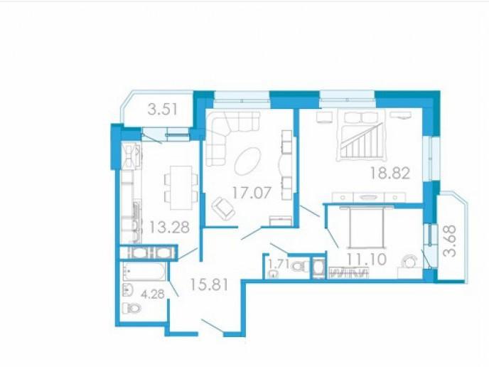 """ЖК """"Медалист"""": кирпичный дом с недорогими квартирами в депрессивном месте - Фото 24"""
