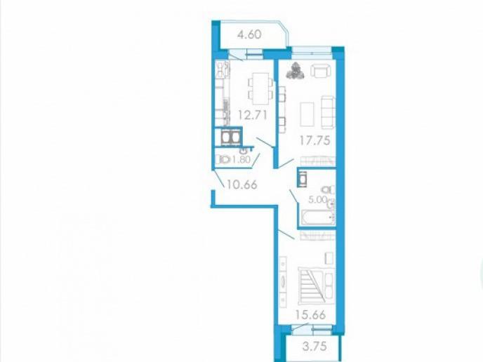 """ЖК """"Медалист"""": кирпичный дом с недорогими квартирами на месте складской постройки - Фото 21"""