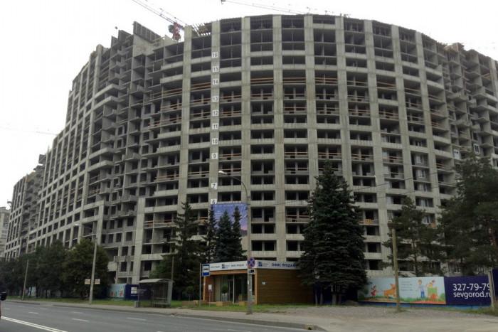 Green City – современный жилой комплекс в депрессивном месте.