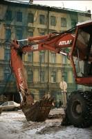 Историческое здание в Дегтярном переулке, 26, полностью демонтировано